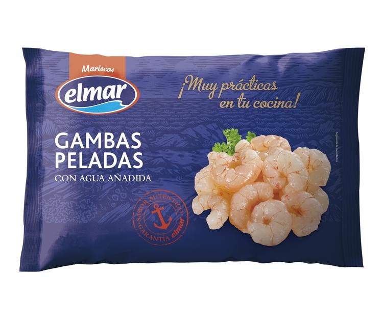 COLAS DE GAMBA ELMAR CON AGUA AÑADIDA