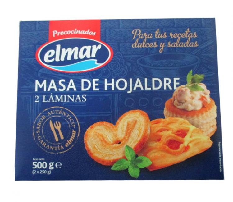 MASA DE HOJALDRE ELMAR