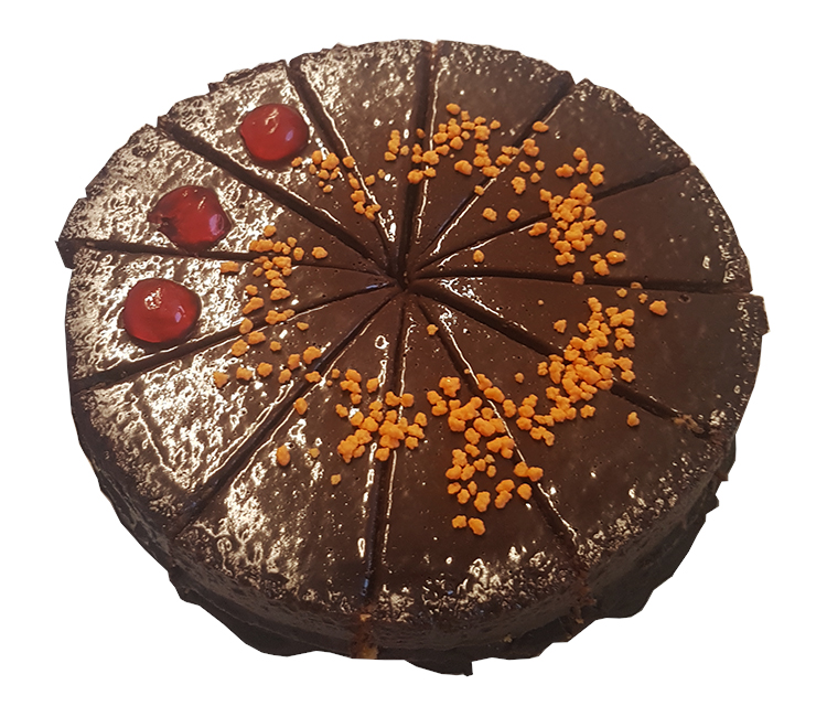 Tarta de Naranja Amarga con Chocolate 12 Rac